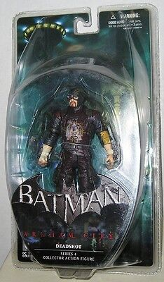 DC COLLECTIBLES 2014 BATMAN ARKHAM CITY DEADSHOT Sealed Package MIMP In Stock