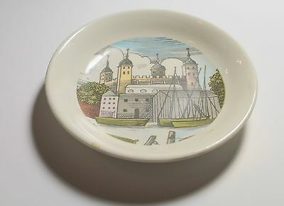 W.H. Smith and Son Ltd Holkham Pottery Plate - Purley Surrey