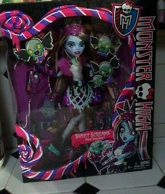 Abbey Bominable Sweet Screams Monster High Doll New in Box