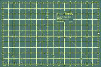 "Sew Easy Premium Quality Double Sided Cutting Mat 12"" x 9"" and 300 x 200mm"