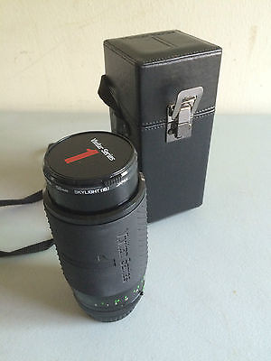 Vivitar Series 1 70-210mm f 1:2.8-4.0 Lens w/Caps & Case, Pentax Mount Near Mint