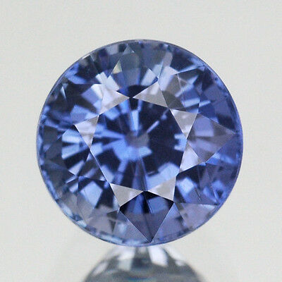 Ultra Rare!! 2.88CT AIGS CERTIFIED UNHEATED Round 7MM. 100%Natural Blue Sapphire