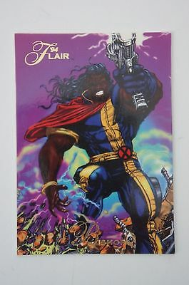 "#85 ""The Origin of Bishop"" 1994 Flair Marvel Comics Trading Card NM"