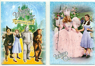 PROMO CARD LOT - THE WIZARD OF OZ - 2 DIFFERENT CARDS