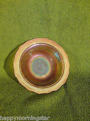 Marigold Carnival Glass Ice Cream Bowl By Imperial