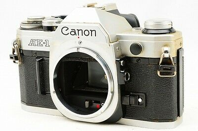 *Ex* Canon AE-1 35mm SLR Film Camera Body w/case Fast Shipping from Japan #793