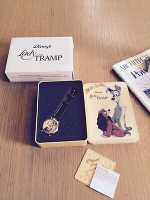 Disney 50th Anniversary Lady And The Tramp Watch In Tin