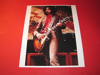LED ZEPPELIN JIMMY PAGE 10x8 inch lab-printed glossy photo P/2171