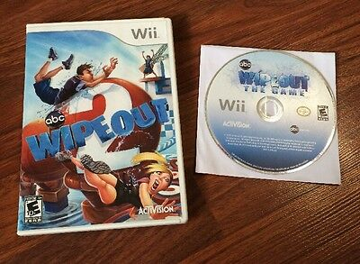 Lot Of 2 Nintendo Wii Games-Wipeout The Game-Wipeout 2-Work Great-Ships Fast!