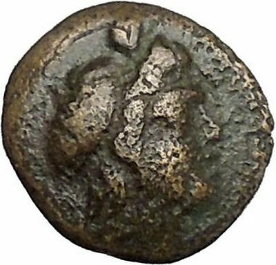 Kaunos in Caria 191BC Ancient Greek Coin Alexander the Great Cornucopia i49006