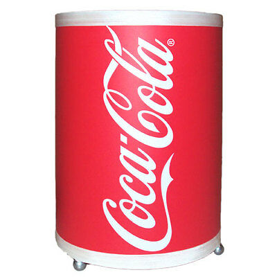 COCA COLA Uplight Table Lamp Red White Novelty COKE Soda Can Light NEW