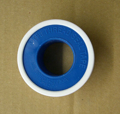 "TEFLON TAPE 1/2"" X 520"" PTFE Thread Seal Plumber Tape SpendLess"