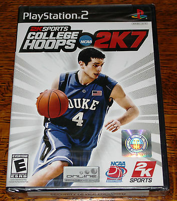 College Hoops 2K7  (Sony PlayStation 2, 2006) NCAA Brand New and Sealed