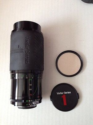 Nikon Zoom Lens Vivitar Series 1 70-210 mm f/2.8-4.0 Zoom Lens For Nikon