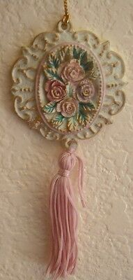 New Vintage Style Victorian Easter or Christmas Tree Ornament