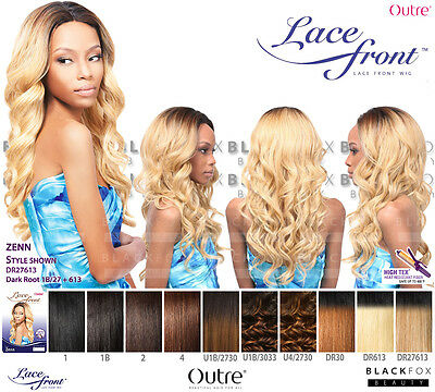 Outre Synthetic Lace Front Wig [Zenn]
