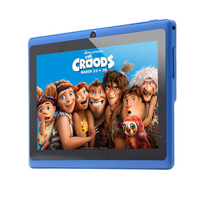 """7"""" Android 4.2 8 GB Tablet PC WIFI Dual Core 2 Camera Color Screen 1.5GHz Blue"""