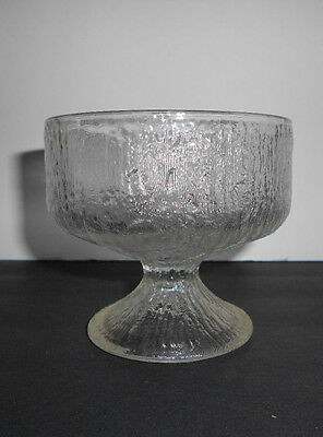 Indiana Glass Crystal Ice Pattern Sherbert/Desert Bowls in Excellent Condition