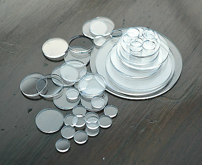Clear Cast 2mm Acrylic discs, squares, stars, hearts  etc up to 250mm laser cut
