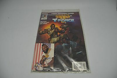 Lot of 4, Mr. T and the T-Force #3 w/ TRADING CARD NOW COMICS NEW SEALED 10B-D