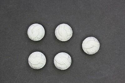 Handmade Passementerie Cord Braided Dome Buttons 4 Different Clours Size 32L#12