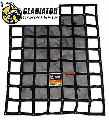 Heavy Duty Pickup Truck Cargo Net -Short Bed (SGN-100) | By Gladiator Cargo Gear