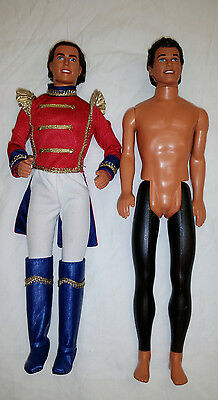 Lot of 2 Ken Dolls and Ken Clothes and Accessories