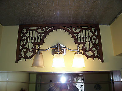 Victorian Antique Oak Fretwork Salvage!