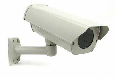 Smart Security Club Outdoor Camera Housing, Cable-Thru Mounting Bracket