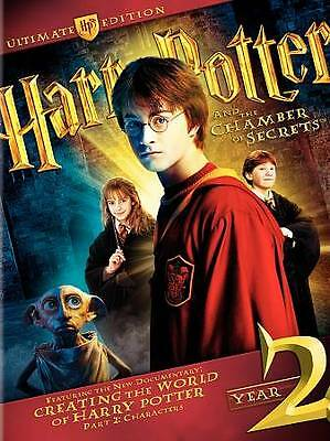 Harry Potter and the Chamber of Secrets (4-Disc Set, WS; Ultimate Edition) NEW!