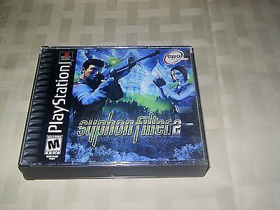 Syphon Filter 2 - Sony PlayStation 1 DVD Game -Rated M -Mature /989 Studios GUC!