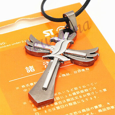 Japanese Anime Death Note L  Cross Pendant Cosplay  Alloy Necklace Gift New