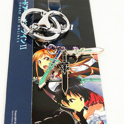 Cosplay Alloy Keychain Keyring Collection Gift For Anime SAO Sword Art Online