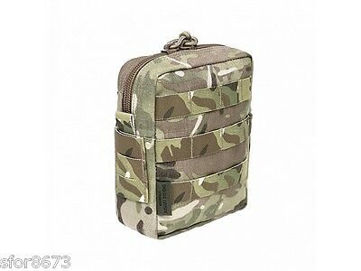 Elite Ops Medium Molle Utility Pouch Multicam Black Coyote Cordura