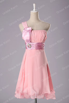 CLEARANCE Sexy Homecoming Bridesmaid Evening Short Prom Party Dress Wedding Gown