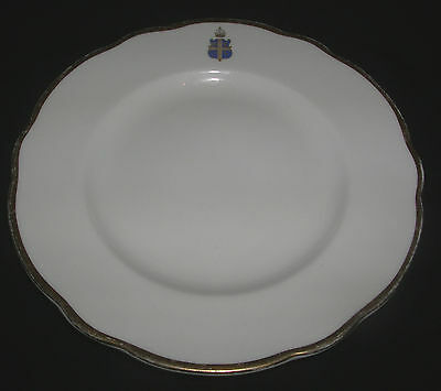 "Rare China Bread-plate "" Official Dinner-Service Claridges Hotel "" Worcester"