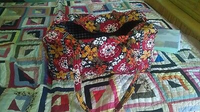 NEW WITH TAGS VERA BRADLEY BITTERSWEET LARGE DUFFLE BAG
