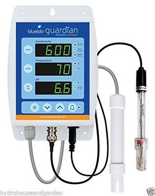 Bluelab CONNECT Guardian Monitor pH EC and Temperature Monitor Blue Lab