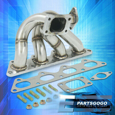 Mitsubishi 89-99 Eclipse 02-06 Evo 4G63 Performance Exhaust Turbo Manifold T3 T4