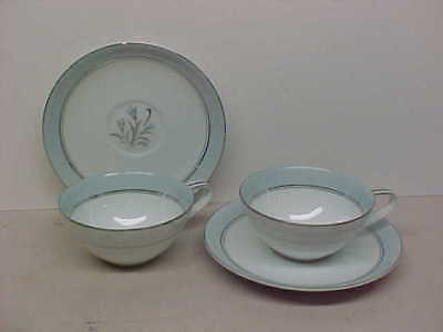 Noritake China BLUEBELL Two Cups and Saucers