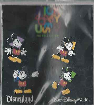 Disney Pins - Oh Mickey! expressions - Booster Set Of 4