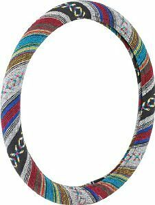 BAJA BLANKET STEERING WHEEL COVER BY BELL AUTOMOTIVE SOUTHWEST DESIGN COLORFUL
