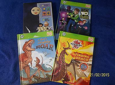 LEAP FROG TAG READING SYSTEM (LOT 4..HB) OUR SOLAR SYSTEM, BAKUGAN, BEN 10, TREX