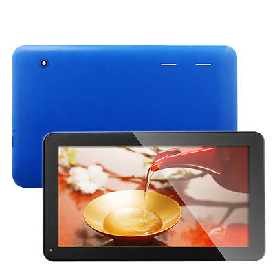 """10.1"""" Google Android 4.2 Touch Pad 8GB Tablet PC WiFi Dual Core HDMI 10"""" Blue ky"""