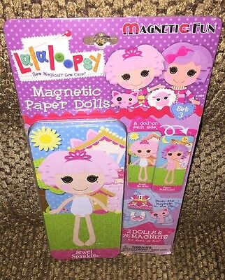 "Lalaloopsy Magnetic Paper Dolls - ""Jewel Sparkles"" - New!!!"