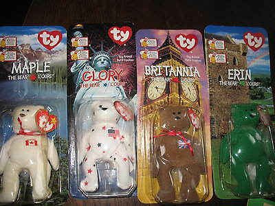 BEANIE BABIES LOT of 4 TY /RONALD McDONALD HOUSE CHARITIES 1999