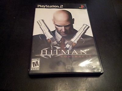Hitman: Contracts  (Sony PlayStation 2, 2004) Black Label - Complete EUC!!