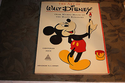 The Art of Walt Disney From Mickey Mouse to the Magic Kingdoms 1975 Vintage