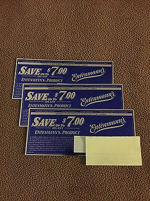 SAVE up to $7.00 ON ANY Entenmann's Product Manufacturer's Coupons Exp. 6-30-15