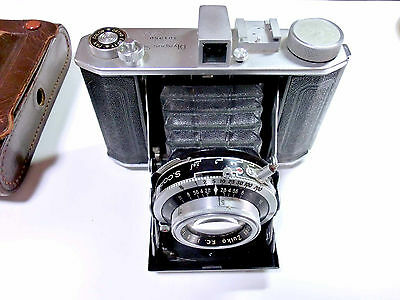 Rare Vintage 1951s OLYMPUS SIX 6  Folding Camera w Zuiko Lens from japan